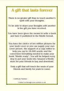 Gold Gift Voucher – £217